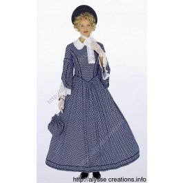 Patron de robe Oxane (1848)