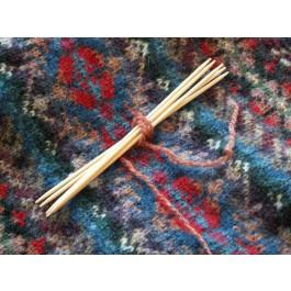 Aiguilles à chaussette en bambou