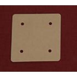Carton pour tissage de galon aux tablettes