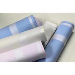 Mouchoir en tissu x 6 pièces - 100% Coton - 30cmx30cm