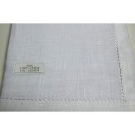 Mouchoir en tissu x 3 pièces 100% Lin Prestige - 43cmx43cm