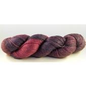 Fil à chaussette tons violet et rose
