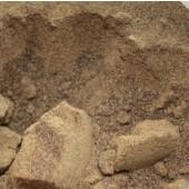 Coréopsis sur coton, dosage 5%, à gauche mordant alun, à droite sulfate de fer