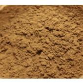 Châtaignier sur soie, dosage 5%, à gauche mordant alun, à droite sulfate de fer