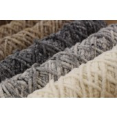 Bobines de laine à tapis