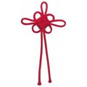Gabarit pour noeud asiatique fleur