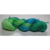 Tons de bleu et vert