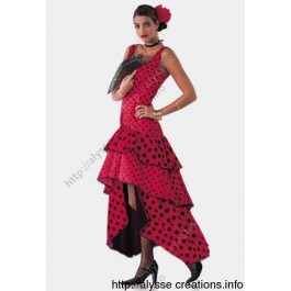 Patron robe flamenco
