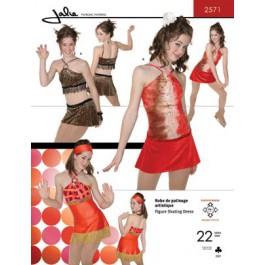 Patron de robe de danse 2571