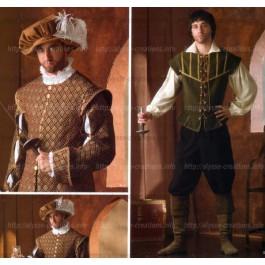 Patron renaissance noble et chevalier