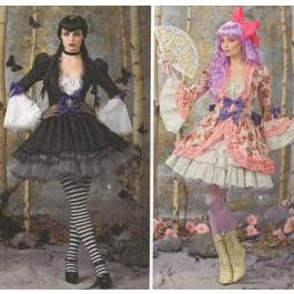 Patron de robe fantaisie / gothique 7808