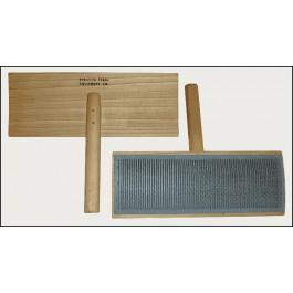 Cardes larges pour coton Strauch
