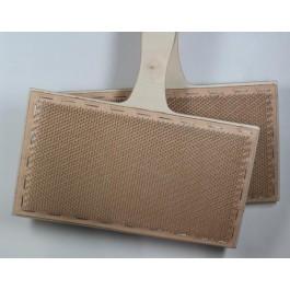 Cardes à main tapis cuir