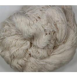 Coton biologique 2 brins en écheveau de 100 gr