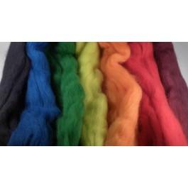 Merinos de couleur 23 microns