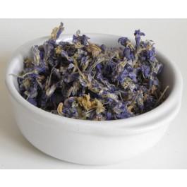Fleurs de delphinium - 100 gr
