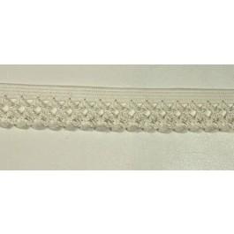 Elastique décoratif largeur 14 mm