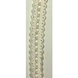 Elastique décoratif largeur 15 mm