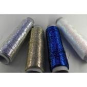 Glitter metal