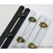 Busc de couleur: noir / bronze antique / doré